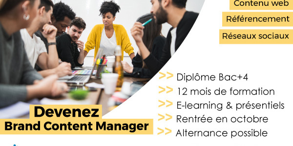 Brand Content Manager·euse